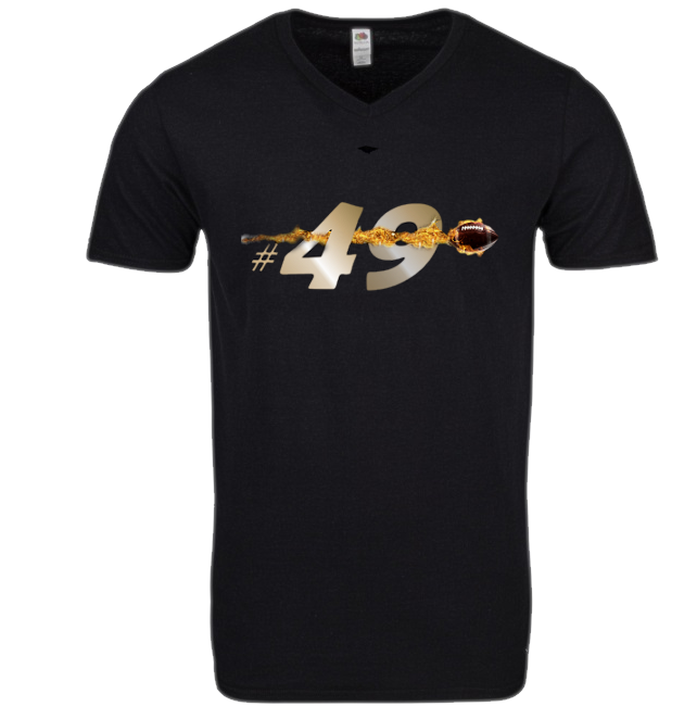 #49 Zach Wood Men's T-Shirt  $33 (Shipping Included)